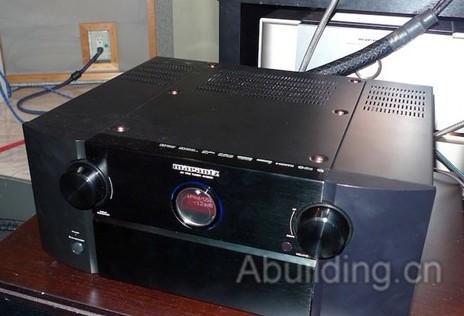 马兰士新推av前置放大器av8801