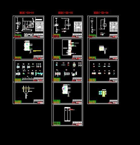 开关电源电路图 电气设计图纸资料下载