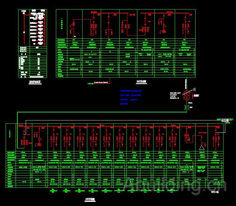 变电所一次系统图