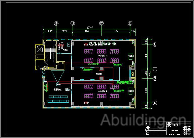 医院弱电综合布线设计图-阿拉丁建筑电气网