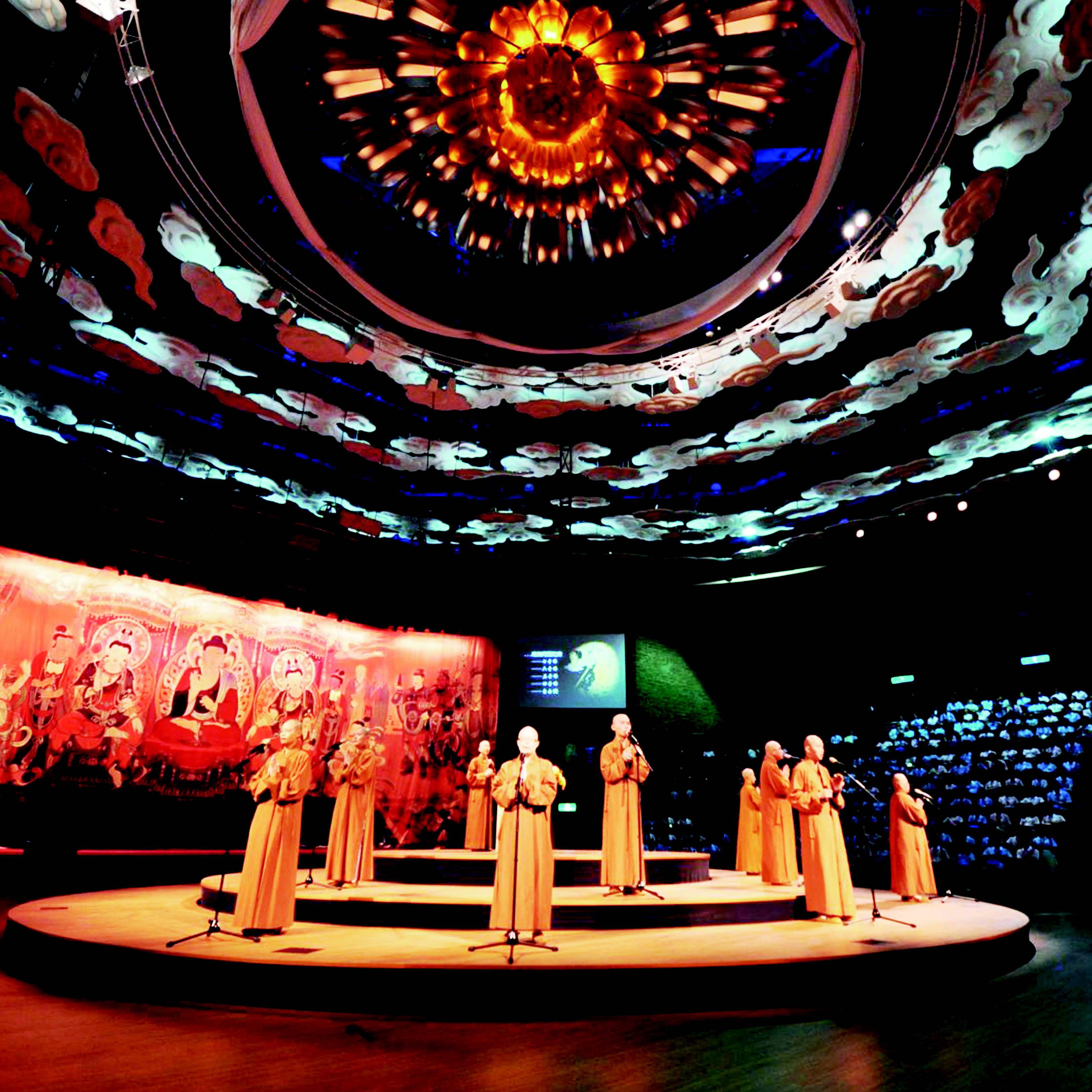 高雄佛光山佛陀纪念馆灯光控制系统解析